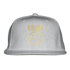 Nirvana By Rihanna Embroidered Snapback Hat