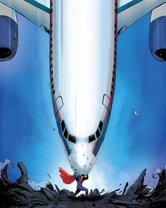 Superman. by Patrick Zircher