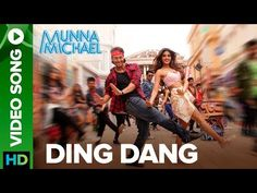 """Ding Dang Lyrics from Bollywood Movie """"Munna Michael"""" ,The song is sung by Amit Mishra & Antara Mitra and music is composed by Javed – Mohsin. """"Ding Dang"""" song's lyrics are written by Danish Sabri & Sabbir Khan. Latest Bollywood Video Songs, Latest Video Songs, Bollywood Movie Songs, Hit Songs, Love Songs, Tiger Love, Bonnie Tyler, Song Of The Year, Hawaii"""