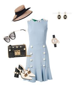 """Untitled #591"" by sh-66-sh on Polyvore featuring Dolce&Gabbana, Anna-Karin Karlsson, Gucci, Chanel and Van Cleef & Arpels"