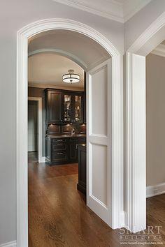 Gracious European Style Custom Home  • Pantry • SMART Builders, Inc.