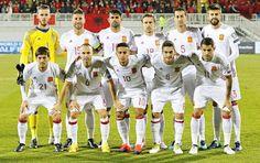 EQUIPOS DE FÚTBOL: SELECCIÓN DE ESPAÑA contra Albania 09/10/2016