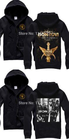 Free shipping  BON JOVI BAND Pop Metal Hard Rock WHAT DO YOU GOT  Hoodie