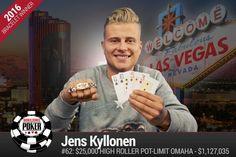 Финский онлайн и оффлайн регуляр Йенс Киллонен выиграл свой первый браслет WSOP в $25k PLO High Roller. За свою победу он получил более $1,1 млн.