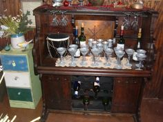Repurposed Wine Bar From An Antique Pipe Organ by Savinghistory, $750.00