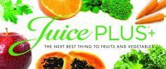 """Why choose Juice Plus+ ?  - The most clinically researched and approved weight loss programme on the market. - """"the next best thing to fruit and veg"""" How does it work?  Obviously there is no better way of living a healthy, nutritious, fit lifestyle than with pure clean, healthy meals and exercise. 27 fruits, vegetables  berries in a capsule or shake form alongside tasty meals.  Prices and further information? sammieeelliott@yahoo.co.uk"""
