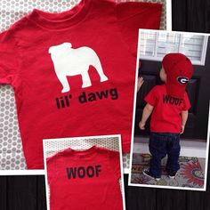 Personalized lil dawg tshirt Toddler Kids football by Maggiebelles