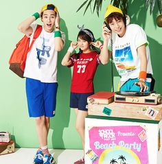 KIM SO HYUN, LEE HYUN WOO, & PARK SEO JOON HAVE A ZEST FOR SUMMER LIVIN' IN UNIONBAY'S FRESH AD CAMPAIGN