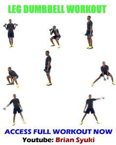 Leg Dumbbell Workout for Beginners