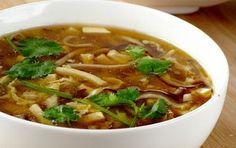 My Manchurian Recipe: Hot Sour Soup