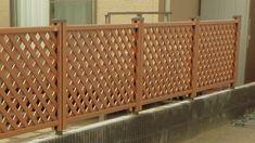 木樹脂フェンス Fence, Divider, Patio, Interior, Room, Furniture, Home Decor, Blue Prints, Bedroom