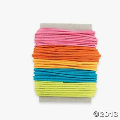 Bright Color Cording