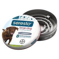 Bayer Seresto Flea and Tick Collar for Dogs, 8 Month Protection ** Be sure to check out this awesome product.