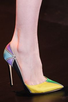 Best Shoes at Milan Fashion Week Fall 2014 | POPSUGAR Fashion