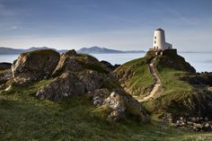I can't wait to go here!! Ynys Llanddwyn Island old lighthouse, Anglesey, Wales