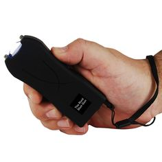 This Runt stun gun with flashlight offers a whooping and stunning 20 million volts to change the mind of any attacker real fast.