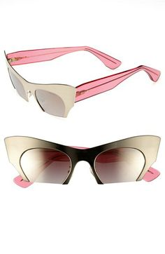 5171eb7a889 Miu Miu 49mm Cat Eye Sunglasses