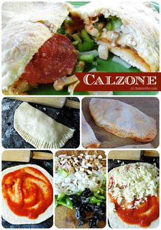 Italian Pizza Calzone Recipe | Bakerette.com