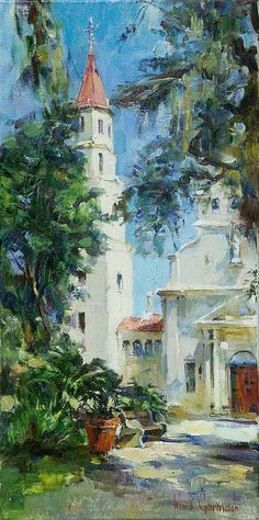 Cathedral, St. Augustine 24 x 12