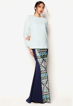 Jovian Mandagie for Zalora Art Deco Aralyn Baju Kurung | ZALORA 2015