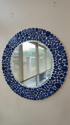 Stained Glass Mirror, Mosaic Mirrors, Mirror Ideas, Sun, Wallpaper, Frame, Home Decor, Frames, Diy Artwork
