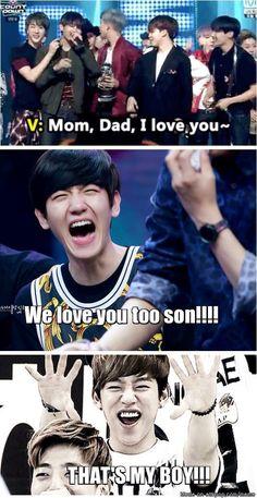 Bts x exo| the hyun family