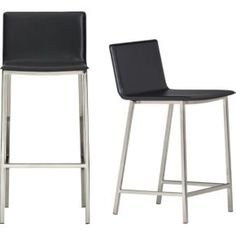 "phoenix carbon grey 24"" counter stool in dining chairs, bar stools 
