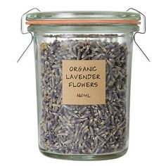 ORGANIC LAVENDER FLOWERS (obsessed, you can buy a container at the farmer's market for around a dollar). You can add to loose tea, put it in a bowl in your bathroom or add to recipes.
