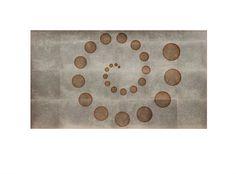 Mario Palacios Kaim. 16:9 Aspect Ratio Serie de 12 piezas Serigrafía y hoja de plata Edición de 12 ejemplares 2015
