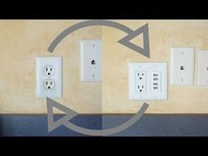 Installing a USB power outlet wall charger. With video instructions.