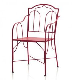 Red St. Germain Dining Chairs - VivaTerra