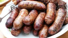 CWA Australia recipes • 'throw another snag on the barbie' Australians cry out in unison • simple truffle sausages recipe here Australian Food, Australian Recipes, Home Made Sausage, Sausage Recipes, Savoury Recipes, Sbs Food, Sydney Restaurants, Personal Chef, English Food