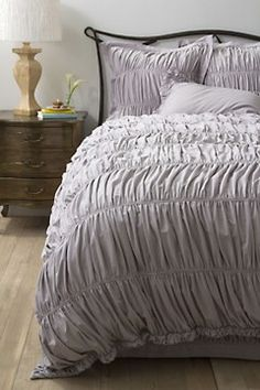 I have always been a fan of this bedding set which has been a staple of Anthropologie since forever!