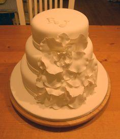 Bruidstaart voor Jennifer en Roy