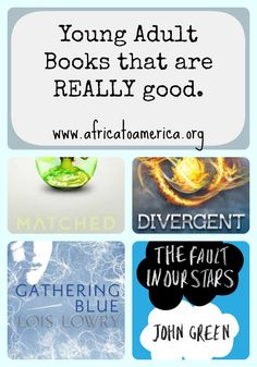 Young Adult Books that are Really Good.