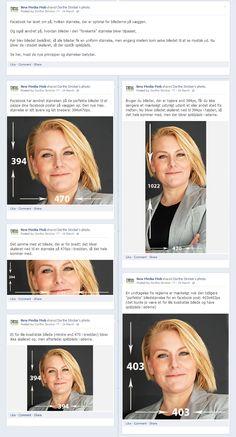 Facebook - optimale billeder i dine poster