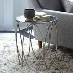 Oval Rings Side Table #westelm