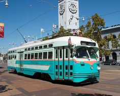In tribute to Washington's use of PCC streetcars, this ex-Newark streetcar currently running in heritage streetcar service in San Francisco wears DC Transit colors. I hope Washington buys a PCC and repaints it in DC Transit colors to run on the H Street-Benning Road Line as a tribute.