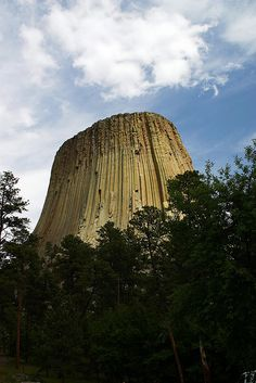 The Devil's Tower, Wyoming