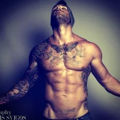 Harrison James (My Unexpected Forever (Beaumont, #2). He's my favorite and this is how I picture him.