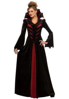 8,10,12,14 Medieval Deluxe Halloween Burlesque Vampire Vixen Vampiress Costume
