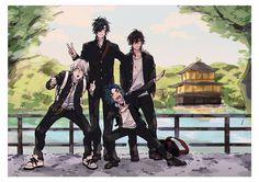 【刀剣乱舞】伊達組の修学旅行 ※学パロ【とある審神者】 : とうらぶ速報~刀剣乱舞まとめブログ~ Touken Ranbu Characters, Hot Vampires, Galactic Heroes, Anime Drawings Sketches, Handsome Anime, Manga Characters, Anime Style, Manga Art, Vocaloid