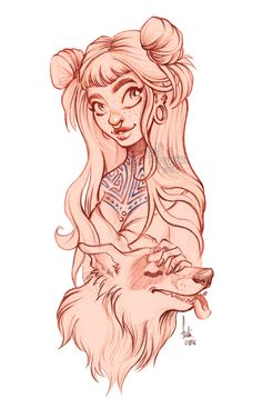 dog - sketch by Fukari.deviantart.com on @DeviantArt