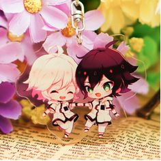 Anime Tales of series Tales of Zestiria Rubber Strap Keychain Keyring Charm 一番くじ