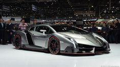 The Lamborghini Veneno is $ 3.9 million worth of aerodynamic exclusivity