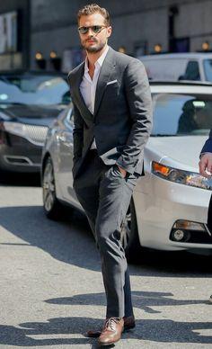 Jamie Dornan in New York city august 5