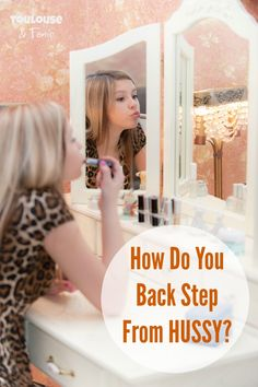 How do you back step from the word HUSSY? When your kid gets his heart broken -- what do you do?  Mother | Parenting | Advice