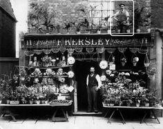 Florist in Woolwich c1910
