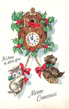 Old Christmas Post Card —  (506x800)