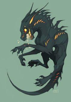 Drakespawn Fire-spitting by SHADE-ShyPervert: